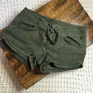 Army Green Roxy Short